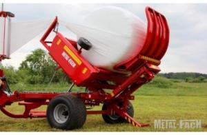 Фото Сельскохозяйственная техника   METAL-FACH, Обмотчики рулонов Z 593 Самозагружающийся