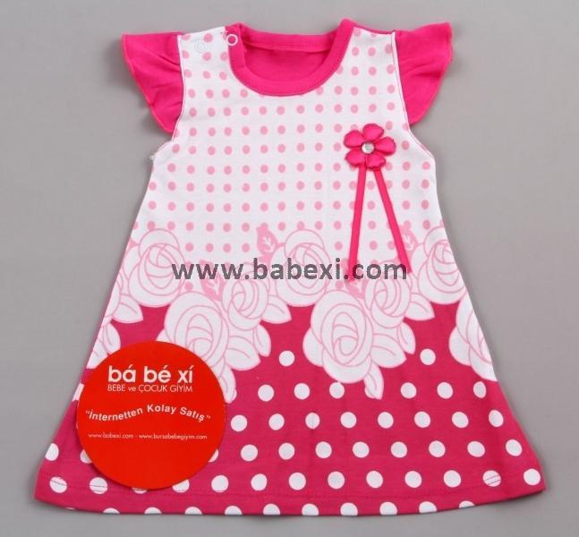 Сарафан для девочек 3,6,9 месяцев. Код 57569.
