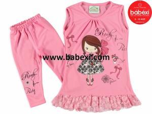 Фото BABEXI, Одежда для девочек, Костюмы Костюм для девочек 4,5,6 лет. Код 65086.