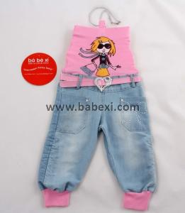 Фото BABEXI, Одежда для девочек, Джинсы, капри, комбинезоны, лосины Комбинезон для девочек 1,2,3. Код 59283.