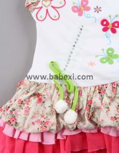 Фото BABEXI, Одежда для новорожденных Сарафан для девочек 1,3,6 месяцев. Код 56433.