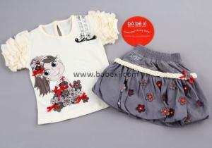 Фото BABEXI, Одежда для новорожденных Костюм для девочек 1,2,3,4 года. Код 57588.