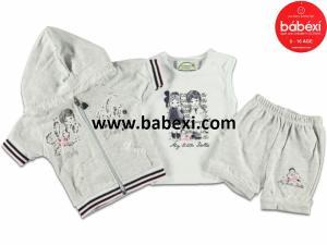 Фото BABEXI, Одежда для новорожденных Костюм для девочек 3,6,9 месяцев. Код 64754.