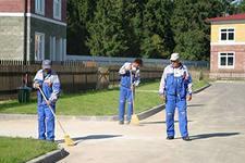 Профессиональная уборка помещений, зданий и территорий.