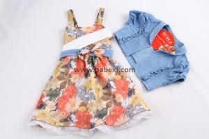 Фото BABEXI, Одежда для девочек, Сарафаны, платья, юбки Сарафан + болеро 7,8,9 лет. Код 56535.