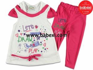 Фото BABEXI, Одежда для девочек, Костюмы Костюм для девочек 4,5,6 лет. Код 64911.