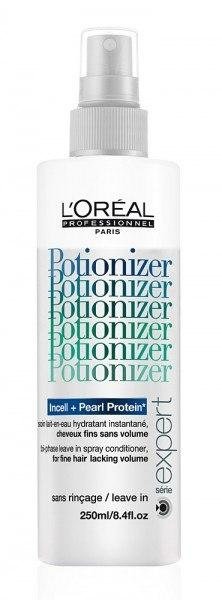 Спрей для тонких волос - Loreal Professionel Serie Expert Potionizer For Fine Hair Lacking Volume  400ml