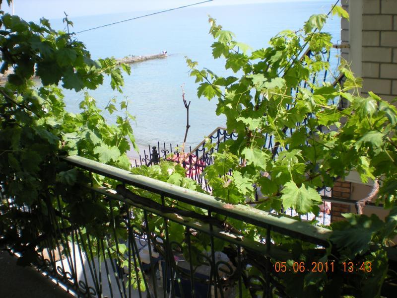 11 КОКОС  эллинг в аренду отдых в крыму на берегу моря с детьми в г. Ялта 1 эт. ( семейный номер )