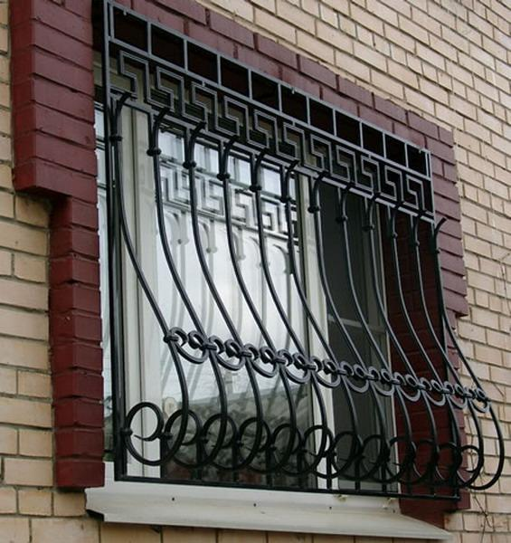 Решетки на окна кованые. Грати на вікна ковані.