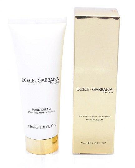 "Крем для рук Dolce & Gabbana ""The One"" 75ml."