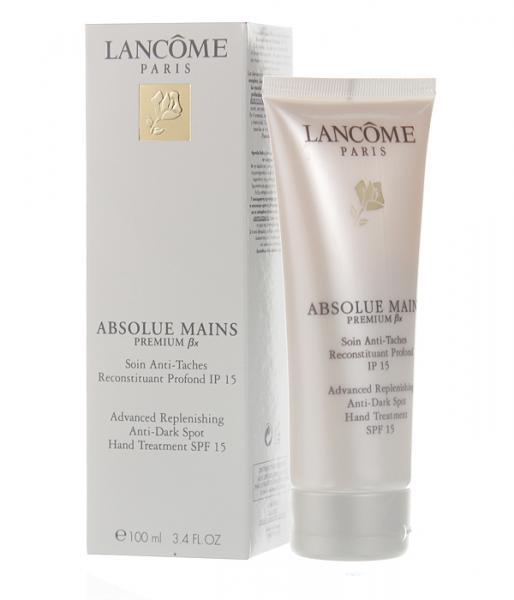 "Антивозрастной крем для рук, Lancome ""Absolue Mains Premium BX spf15"", 100 ml"
