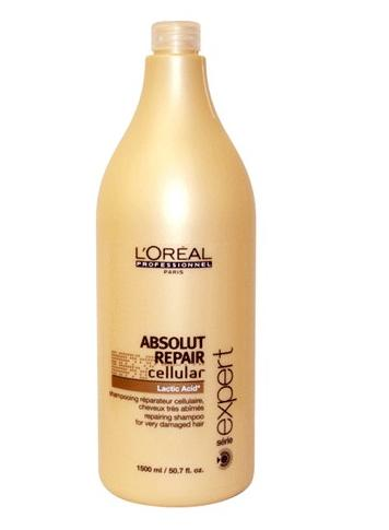 Шампунь - LOreal Professionnel Absolut Repair Shampoo 1500ml