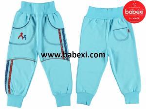 Фото BABEXI, Одежда для новорожденных, Шорты, капри, брюки Брюки для мальчика Интерлок 6/12/18 месяцев. Код 65 721