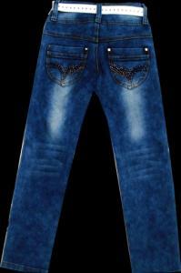 Фото ТМ Armaiti, Брюки джинсовые для девочек Брюки джинсовые для девочек 116-140см. Код #8003