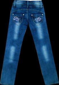 Фото ТМ Armaiti, Брюки джинсовые для девочек Брюки джинсовые для девочек 116-140см. Код #25267