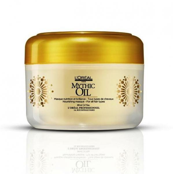Маска для всех типов волос - LOreal Prodessional Mythic Oil Masque  200ml.
