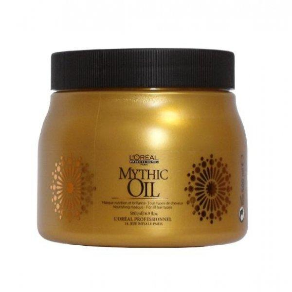 Маска для всех типов волос - LOreal Prodessional Mythic Oil Masque  500ml.