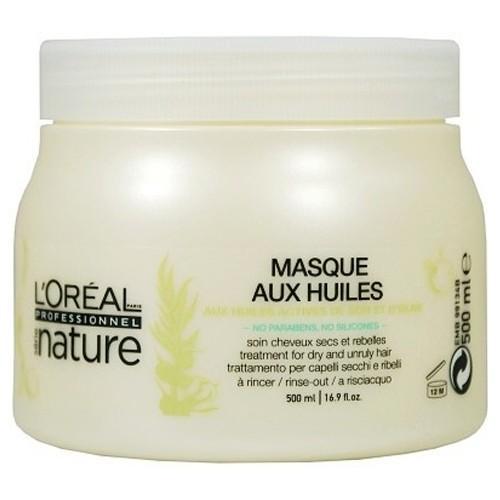 Маска для непослушных волос - LOreal Professionnel Nature Rebellisches Mask  500ml.