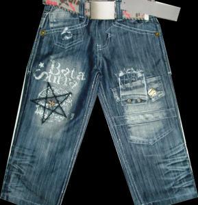 Фото ТМ Armaiti, Брюки джинсовые для мальчиков Брюки джинсовые для мальчика Звезда 100-115см. Код #563