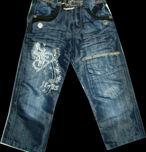 Брюки джинсовые для мальчиков Jeans 100-120 см. Код #804-1