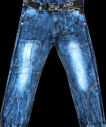 Брюки джинсовые для мальчиков And 116-140см. Код #817