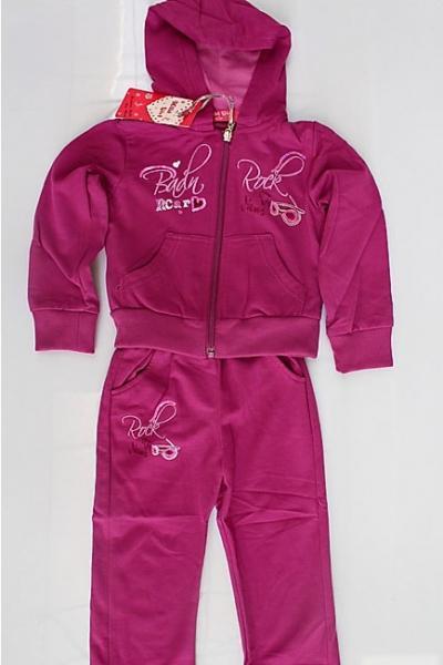 Спортивный костюм для девочек 1,2,3,4,5лет. Код 6001