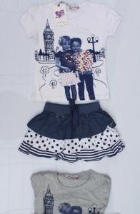 Фото ПОЛЬША, Костюмы  для девочек  Костюм для девочек 4,6,8,10,12 лет. Код ХК-911