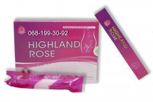 Фото  Гель вагинальный увлажняющий Highland Rose (5 гр.х5 шт).Tibemed.