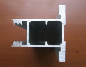Фото Раздвижные системы Аристо, Виды профилей Вертикальный профиль LUX