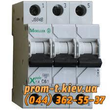 Фото Автоматические выключатели для защиты от перегрузок и короткого замыкания электрической цепи, Автоматический выключатель Moeller, Schneider Еlectric Автомат PL6