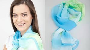 Турмалиновый шарф. Большой выбор расцветок.