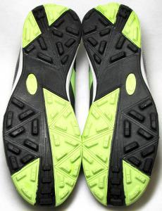 Фото СОРОКОНОЖКИ Сороконожки Nike T-90 серо-салатовые