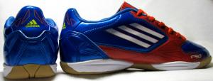 Фото БАМПЫ Бампы Adidas F50 голубо-красные