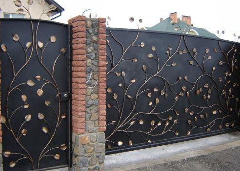 Ворота ковані Кованные ворота