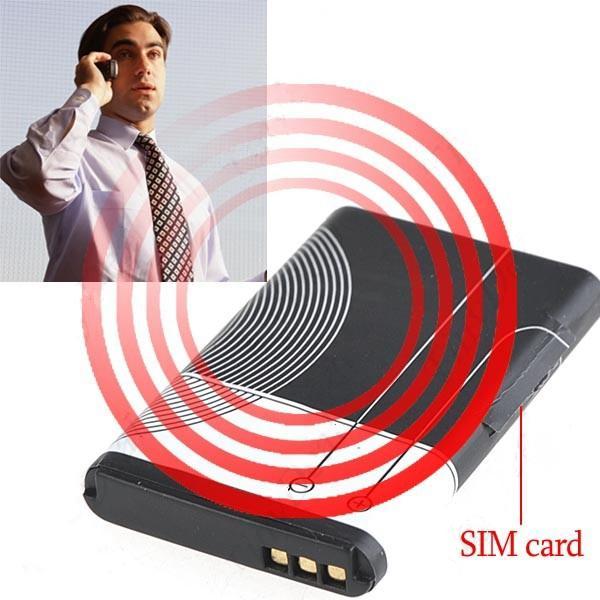 """GSM жучок """"Аккумулятор"""" с активацией на звук"""