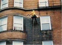 Техобслуживание и ремонт фасадов и окон зданий.