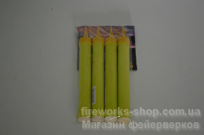 Фото Пиротехника в помещении (бенгальские огни, хлопушки и т.д.) Тортовая свеча  L2 40sec