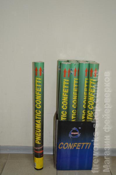 Фото Конфетти хлопушки, Пневмохлопушки Хлопушка PZ C10 D45mm L600mm 10-15m MIX (4/12)