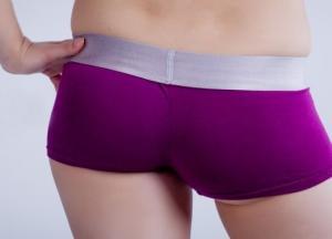 Фото Женские трусики Calvin Klein трусики Calvin Klein шортики фиолетового цвета