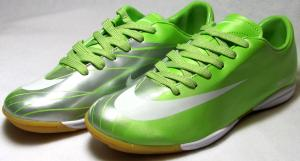 Фото БАМПЫ Бампы Nike Mercurial салатово-серебристые