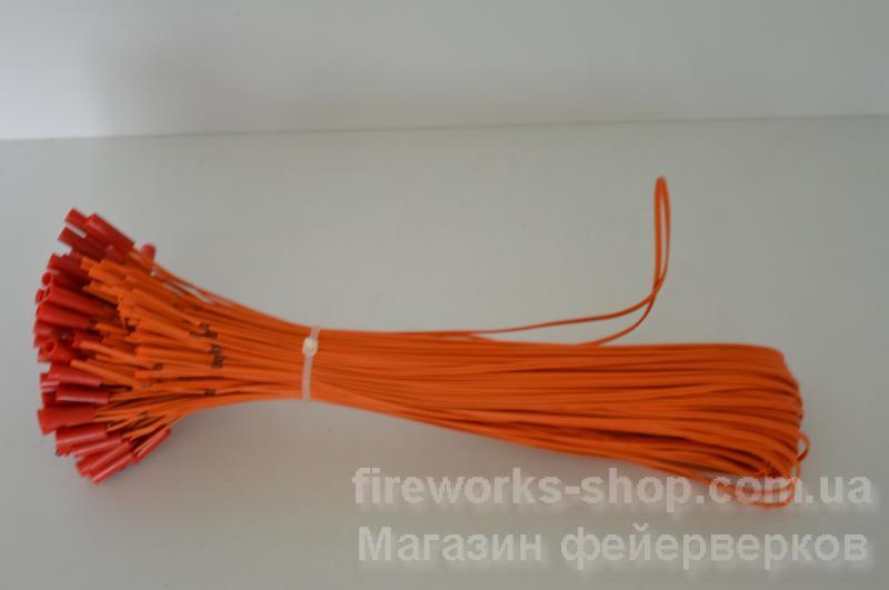 Фото Профессиональная Пиротехника и оборудование, Электрозапалы, замедлители, стопины Электроспичка 30cm (21/100)