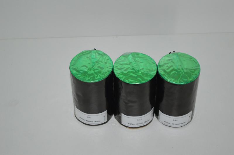Файер Огонь зеленый 0,5 метр 60 секунд