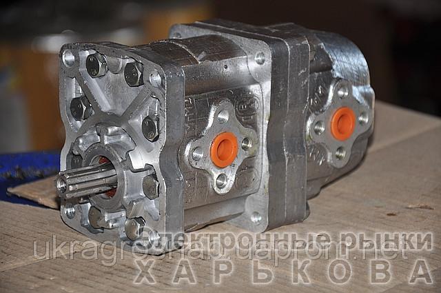 Насос шестеренный НШ 10-10  - Автозапчасти и комплектующие на рынке Барабашова