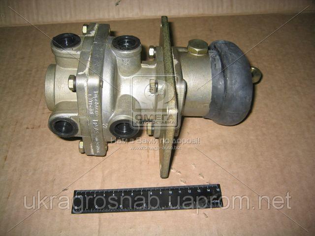Кран тормозной  2-секционный (пр-во ПААЗ) 100.3514008