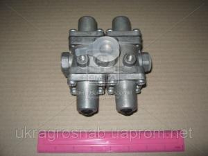 Клапан защитный КАМАЗ 4-х контурный  100.3515510-20 (пр-во РААЗ)