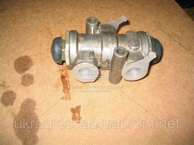 Клапан защитный КАМАЗ двойной  100.3515110 (пр-во г. Рославль)