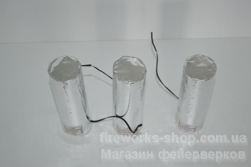 Фото Профессиональная Пиротехника и оборудование, Концертная (Сценическая) пиротехника. Фонтан MS L48 D38mm L117mm 00m 15sec Special Silver Chrysanthemum (with electric igniter) (20/5)