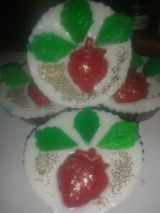 Фото Мыльные десерты Клубника