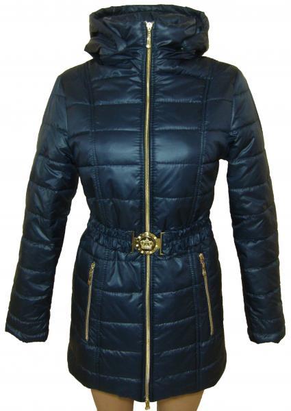 Женское пальто  24025 осень-зима (тёмно-синий) (только 40 и 42р)