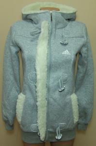 Фото Вся спортивная женская одежда Женская спортивная кофта, длинная на байке 21011